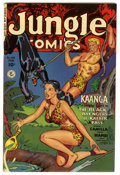 Golden Age (1938-1955):Adventure, Jungle Comics #134 Mile High pedigree (Fiction House, 1951) Condition: NM-. Overstreet 2006 NM- 9.2 value = $185. From the...