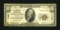 National Bank Notes:Kentucky, Morganfield, KY - $10 1929 Ty. 1 The Morganfield NB Ch. # 7490. ...