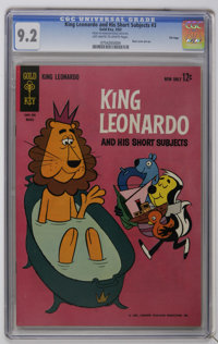 King Leonardo and His Short Subjects #3 File Copy (Gold Key, 1963) CGC NM- 9.2 Off-white to white pages. Just one other...