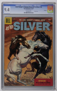 Lone Ranger's Famous Horse Hi-Yo Silver #16 File Copy (Dell, 1955) CGC NM 9.4 Off-white pages. Painted cover. Highest gr...