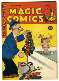 Magic Comics #65 (David McKay Publications, 1944) Condition: VF-. Featuring Blondie by Chic Young, Mandrake the Magician...