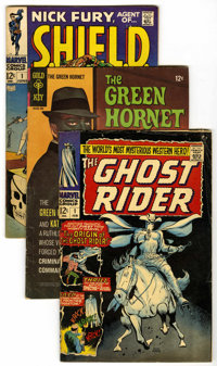 Miscellaneous Group (Various, 1963-78) Condition: Average GD/VG. Includes Batman #194; Boris Karloff Tales of Mystery...