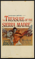 """Movie Posters:Drama, The Treasure of the Sierra Madre (Warner Brothers, 1948). Window Card (13"""" X 22""""). Drama. ..."""