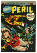 """Golden Age (1938-1955):Science Fiction, Operation Peril #5 Davis Crippen (""""D"""" Copy) pedigree (ACG, 1951)Condition: FN/VF. Danny Danger, Time Travelers, and Typhoon..."""
