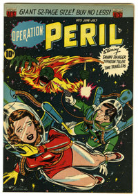 "Operation Peril #5 Davis Crippen (""D"" Copy) pedigree (ACG, 1951) Condition: FN/VF. Danny Danger, Time Traveler..."