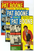 Silver Age (1956-1969):Romance, Pat Boone Group (DC, 1959-60) Condition: Average VG. Issues include#1, 4, and 5. Approximate Overstreet value for group = $... (Total:3 Comic Books)