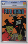 Golden Age (1938-1955):Horror, Red Band Comics #3 (Enwil, 1945) CGC VF 8.0 Cream to off-whitepages. First appearance of Captain Wizard. Overstreet 2006 VF...