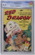 Golden Age (1938-1955):Miscellaneous, Red Dragon Comics #4 (Street & Smith, 1948) CGC FN+ 6.5 Cream to off-white pages. Edd Cartier cover. Joe Maneely and Bob Pow...