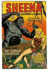 Sheena, Queen of the Jungle #8 Mile High pedigree (Fiction House, 1950) Condition: VF/NM. Robert Webb cover and art. 36...