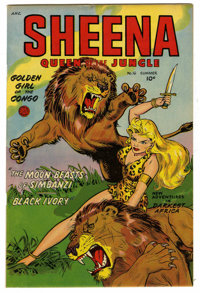 Sheena, Queen of the Jungle #16 Mile High pedigree (Fiction House, 1952) Condition: VF+. Robert Webb art. Overstreet 200...