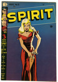 Golden Age (1938-1955):Superhero, The Spirit #22 (Quality, 1950) Condition: VG+. Classic Will Eisner cover. Overstreet 2006 VG 4.0 value = $118. From the Jo...