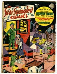 """Star Spangled Comics #14 Davis Crippen (""""D"""" Copy) pedigree (DC, 1942) Condition: GD/VG. Jack Kirby cover and a..."""