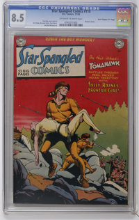 "Star Spangled Comics #110 Davis Crippen (""D"" Copy) pedigree (DC, 1950) CGC VF+ 8.5 Off-white to white pages. F..."