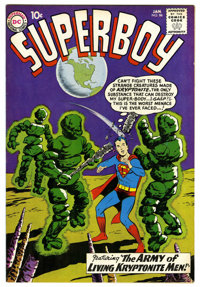 Superboy #86 (DC, 1961) Condition: FN+. Fourth appearance of the Legion of Super-Heroes. First appearance of Pete Ross...