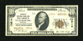 National Bank Notes: , Luxemburg, MO - $10 1929 Ty. 2 Lafayette NB & TC Ch. # 13514....
