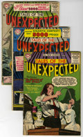Silver Age (1956-1969):Horror, Tales of the Unexpected #3, 4, and 6 Group (DC, 1956). Includes #3(VG); #4 (GD/VG); and #6 (GD+). Artists include Mort Druc...(Total: 3 Comic Books)