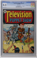 """Golden Age (1938-1955):Funny Animal, Television Puppet Show #2 Davis Crippen (""""D"""" Copy) pedigree (Avon,1950) CGC VF+ 8.5 Off-white pages. Only CGC-graded copy t..."""
