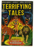 Golden Age (1938-1955):Horror, Terrifying Tales #11 (Star Publications, 1953) Condition: VG. Usedin POP. Overstreet 2006 VG 4.0 value = $100. From t...