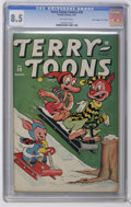 "Golden Age (1938-1955):Funny Animal, Terry-Toons Comics #30 Davis Crippen (""D"" Copy) pedigree (Timely,1945) CGC VF+ 8.5 Off-white pages. Funny animal stories. C..."