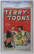 "Golden Age (1938-1955):Funny Animal, Terry-Toons Comics #31 Davis Crippen (""D"" Copy) pedigree (Timely,1945) CGC VF- 7.5 Off-white pages. Funny animal stories. C..."