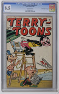 "Golden Age (1938-1955):Funny Animal, Terry-Toons Comics #37 Davis Crippen (""D"" Copy) pedigree (Timely,1945) CGC FN+ 6.5 Off-white pages. Only copy on the curren..."
