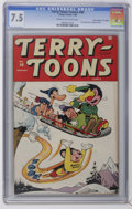 "Golden Age (1938-1955):Funny Animal, Terry-Toons Comics #40 Davis Crippen (""D"" Copy) pedigree (Timely,1946) CGC VF- 7.5 Cream to off-white pages. Overstreet 200..."