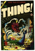 "Golden Age (1938-1955):Horror, The Thing! #17 (Charlton, 1954) Condition: GD/VG. Last issue. SteveDitko cover. Bob Powell and Dick Ayers art. Classic ""Thr..."