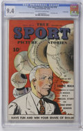 Golden Age (1938-1955):Miscellaneous, True Sport Picture Stories V2#10 Crowley Copy pedigree (Street & Smith, 1944) CGC NM 9.4 Off-white to white pages. Connie Ma...