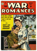 "Golden Age (1938-1955):Romance, True War Romances #4 Davis Crippen (""D"" Copy) pedigree (Quality,1953) Condition: VF. Overstreet 2006 VF 8.0 value = $40. ..."