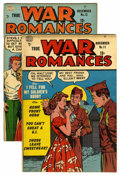 Golden Age (1938-1955):Romance, True War Romances #11 and 12 Group (Quality, 1953). Includes #11(VF-) and 12 (FN). Approximate Overstreet value for group =...(Total: 2 Comic Books)