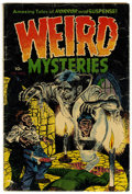 Golden Age (1938-1955):Horror, Weird Mysteries #3 (Gillmor, 1953) Condition: GD/VG. Features awicked decapitation cover. Overstreet 2006 GD 2.0 value = $5...