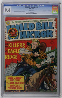 Wild Bill Hickok #12 Mile High pedigree (Avon, 1952) CGC NM 9.4 White pages. Everett Raymond Kinstler cover and art. Hig...