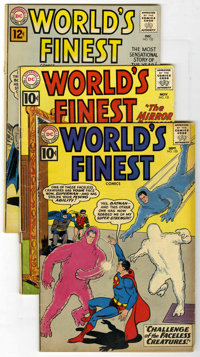 World's Finest Comics Group (DC, 1961-63) Condition: Average VG-. Issues include #120, 121, 122, 123, 124, 125, 126, 127...