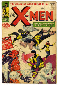 X-Men #1 (Marvel, 1963) Condition: GD/VG. Here it is, the book that started one of the most profitable franchises in com...