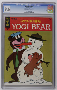 Yogi Bear #28 File Copy (Gold Key, 1967) CGC NM+ 9.6 Off-white to white pages. According to the CGC census as of this wr...