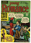 Golden Age (1938-1955):Romance, Young Romance Comics #12 From the Crippen Collection.(Prize, 1949) Condition: FN+. Joe Simon and Jack Kirby cover anda...