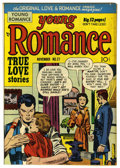 "Golden Age (1938-1955):Romance, Young Romance Comics #27 Davis Crippen (""D"" Copy) pedigree (Prize,1950) Condition: FN-. Line drawn cover. Joe Simon and Jac..."