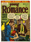 "Golden Age (1938-1955):Romance, Young Romance Comics #34 Davis Crippen (""D"" Copy) pedigree (Prize,1951) Condition: FN/VF. Line Drawn cover. Joe Simon and J..."