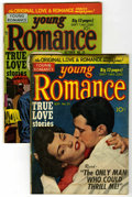 """Golden Age (1938-1955):Romance, Young Romance Comics #25 and 26 Group - Davis Crippen (""""D"""" Copy)pedigree (Prize, 1950). Includes #25 (photo cover - PR) and...(Total: 2 Comic Books)"""
