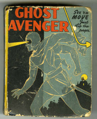 Big Little Book #1462 Ghost Avenger (Whitman, 1943) Condition: GD. Contains flip pictures. Overstreet 2006 GD 2.0 value...