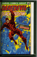 Bronze Age (1970-1979):Superhero, Daredevil #81-100 Bound Volume (Marvel, 1971-73). Includes copies of issues 81 (52 pages, Black Widow begins as a supporting...