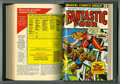 Bronze Age (1970-1979):Superhero, Fantastic Four #121-135 Bound Volume (Marvel, 1972-73). Includes copies of issues 121 (Silver Surfer cover and story), 122 (...