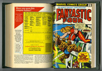 Fantastic Four #121-135 Bound Volume (Marvel, 1972-73). Includes copies of issues 121 (Silver Surfer cover and story), 1...