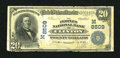 National Bank Notes:Missouri, Clinton, MO - $20 1902 Date Back Fr. 644 The Peoples NB Ch. #(M)8509. ...
