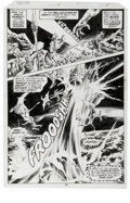 Original Comic Art:Panel Pages, Sal Buscema and Rudy Nebres - Tarzan #21 page 15 Original Art (DC, 1979). Tarzan gets caught in a boiling geyser, along with...