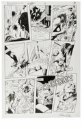 Original Comic Art:Panel Pages, Gene Colan and Bob Smith - Detective Comics #562, page 3 Original Art (DC, 1986). Film Freak is out to destroy the people wh...