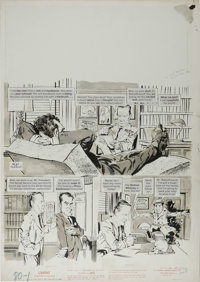 "Mort Drucker - Mad #80 Complete 5-page Story ""The Tenth Hour"" Original Art (EC, 1963). Mort Drucker's art for..."