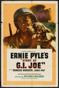 "Movie Posters:War, The Story of G.I. Joe (United Artists, 1945). One Sheet (27"" X41""). War. ..."