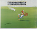 "Animation Art:Limited Edition Cel, ""Fly Ball"" Limited Edition Hand Painted Cel #62/200 Original Art (Walter Lantz Productions, 1992). Hand painted limited edit... (Total: 2 Items)"