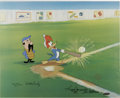 "Animation Art:Limited Edition Cel, ""Woody Gets a Hit"" International Edition Hand Painted Cel #8/25Original Art (Walter Lantz Productions, 1992). This hand pai...(Total: 3 Items)"